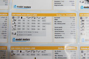 MODEL MOTORS「AXI 5330 F3A GOLDLINE」 F3A電動モーター